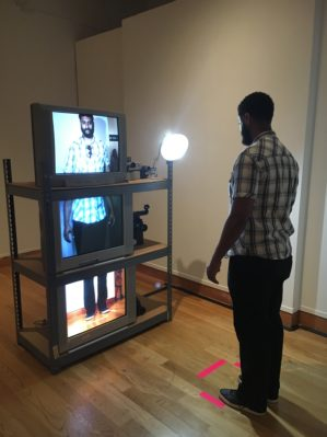 The Exquisite Video Corpse an interactive installation for the Santa Barbara Museum of Art.